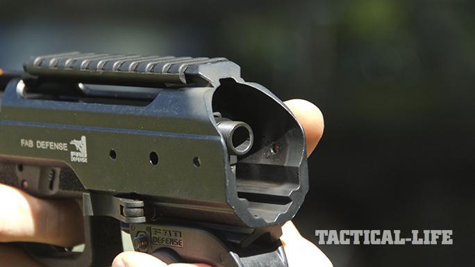 fab defense KPOS glock carbine barrel closeup