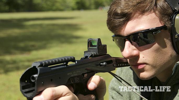 fab defense KPOS glock carbine aim