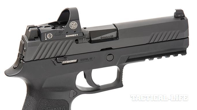 Sig Sauer P320 RX Full-Size pistol parts