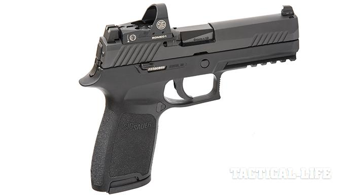 Sig Sauer P320 RX Full-Size pistol right angle