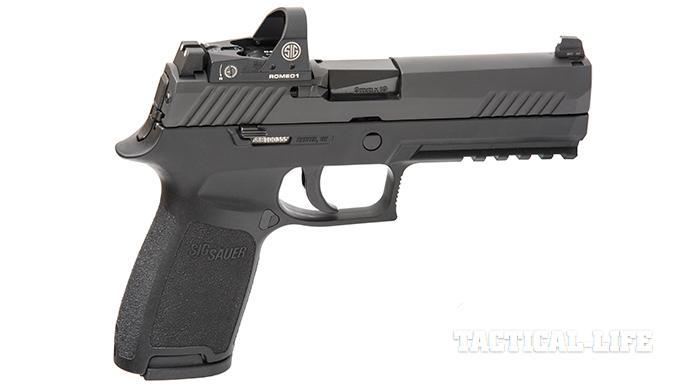 Sig Sauer P320 RX Full-Size pistol right profile