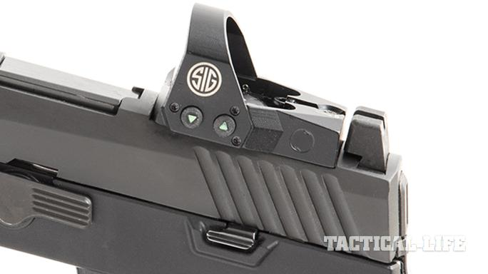 Sig Sauer P320 RX Full-Size pistol optic