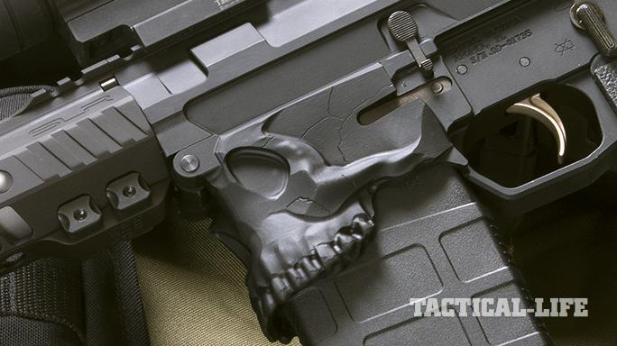 Sharps Bros. Jack10 Rifle skull