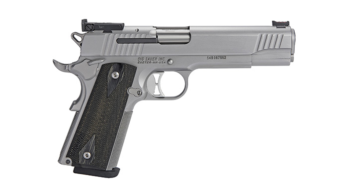 Sig 1911 Match Elite Stainless pistol right profile