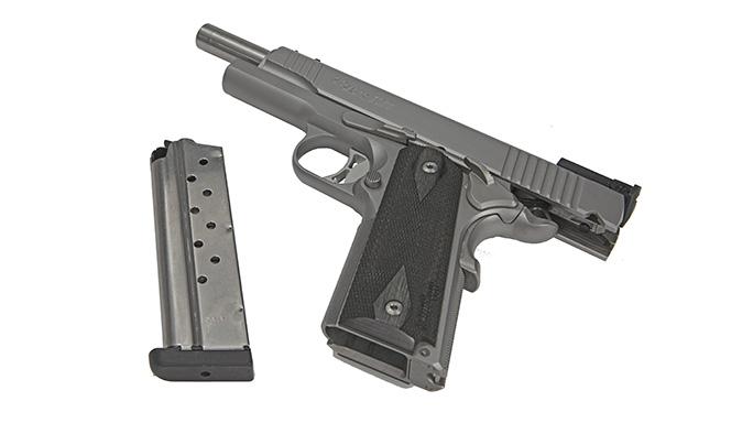 Sig 1911 Match Elite Stainless pistol slide