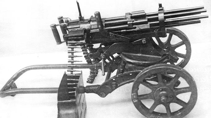 soviet experimental weapons slostin machine gun