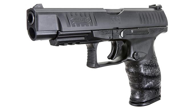 WALTHER PPQ M2 STANDARD SLIDE pistol left angle