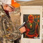 Caliber Dynamics Tomahawk Trigger paper target