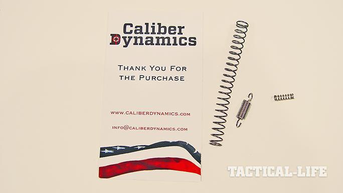 Caliber Dynamics Tomahawk Trigger spring kit