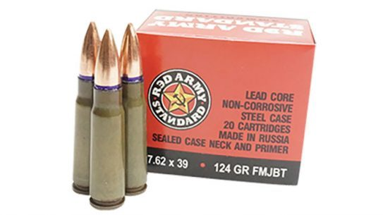 century arms red army standard 7.62x39mm ammo