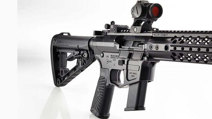 Wilson Combat AR9 rifle stock tactical-life
