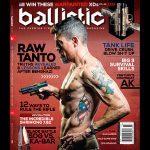 Kris Tanto Paronto Ballistic Magazine cover 2017 actual