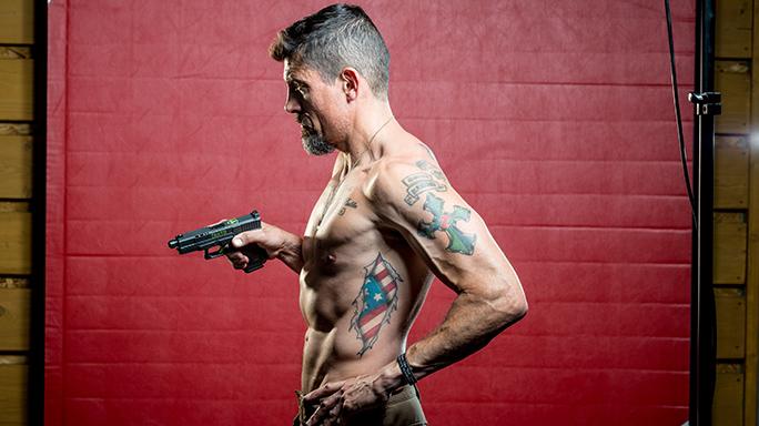 Kris Tanto Paronto Ballistic Magazine cover 2017 tattoo