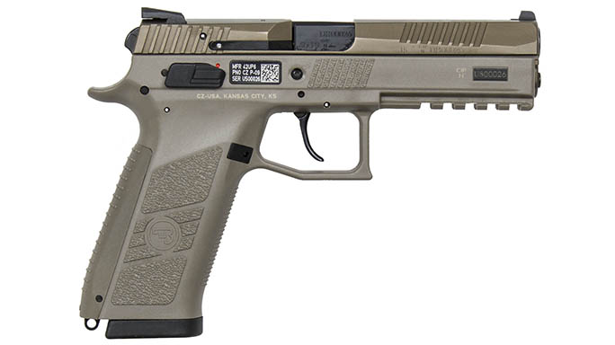 CZ P-09 MHS XM17 MHS Pistol right profile