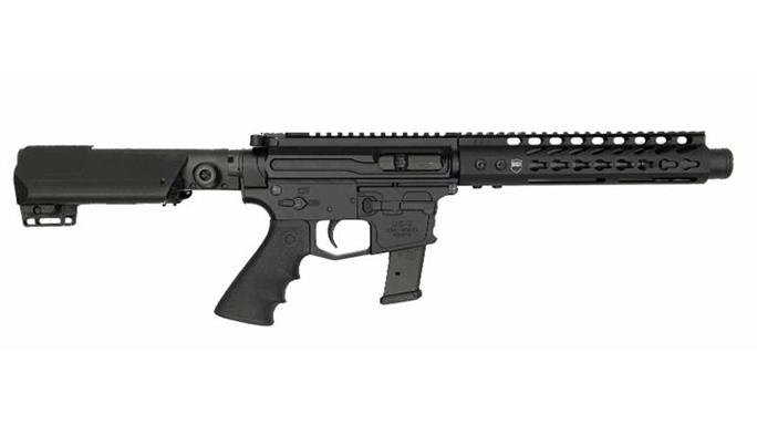DS Hailstorm 9mm Pistol right profile