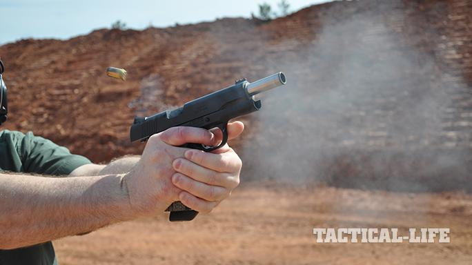 The Ed Brown Special Forces pistol barrel