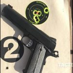 The Ed Brown Special Forces pistol target