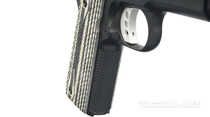 The Ed Brown Special Forces pistol backstrap