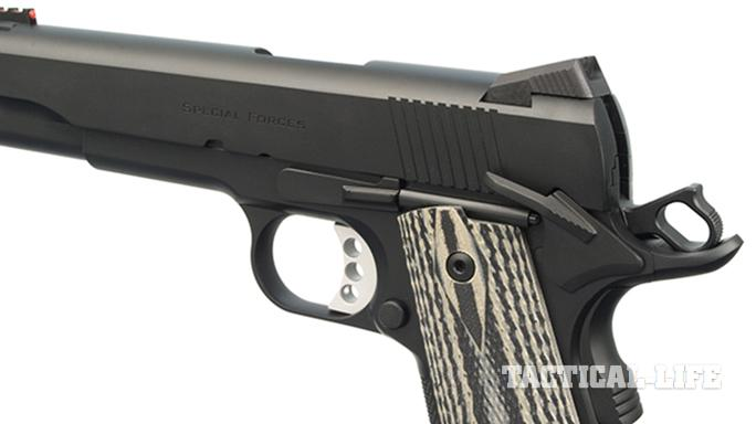 The Ed Brown Special Forces pistol trigger