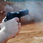 The Ed Brown Special Forces pistol firing
