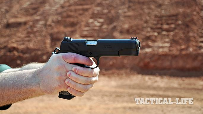 The Ed Brown Special Forces pistol gun test