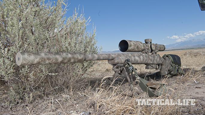 Custom FN SPR A5M .308 Precision Rifle left angle