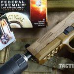 Sig P227 TACOPS and FNX-45 Tactical pistol ammo