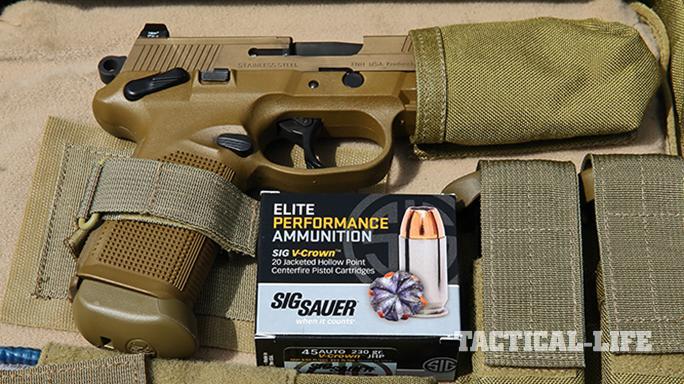 Sig P227 TACOPS and FNX-45 Tactical pistol nylon case