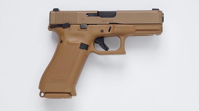 9mm Glock MHS pistol right profile