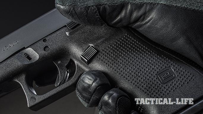 g41 pistol mag release