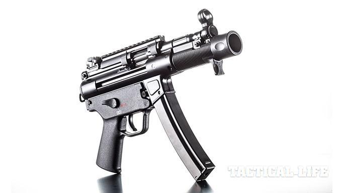HK SP5K pistol right angle