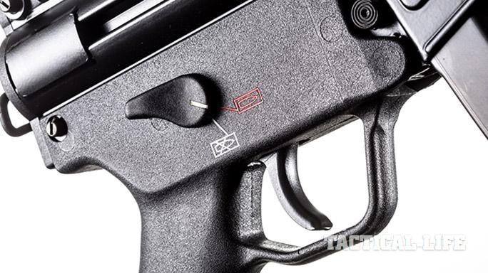 HK SP5K pistol safety