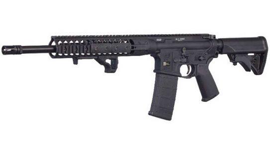 LWRCI IC DI 300 BLK rifle left angle