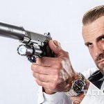 Kimber Warrior SOC TFS pistol aiming