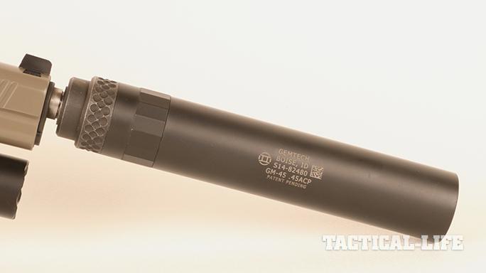 Kimber Warrior SOC TFS pistol gemtech
