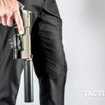Kimber Warrior SOC TFS pistol pointing down