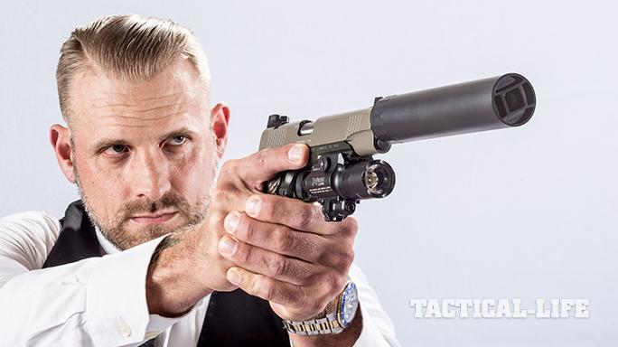 Kimber Warrior SOC TFS pistol right angle