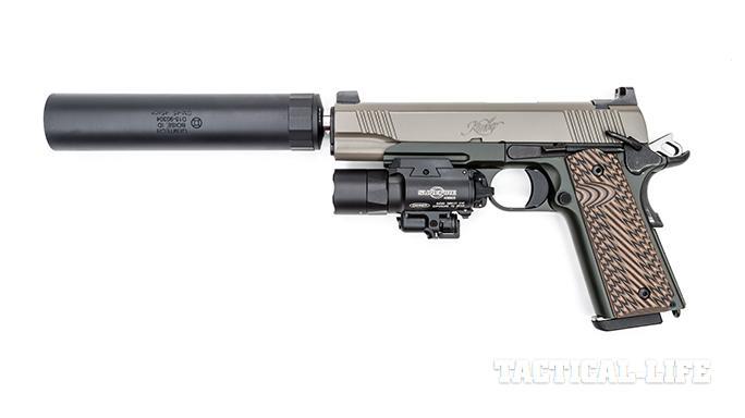 Kimber Warrior SOC TFS pistol left profile