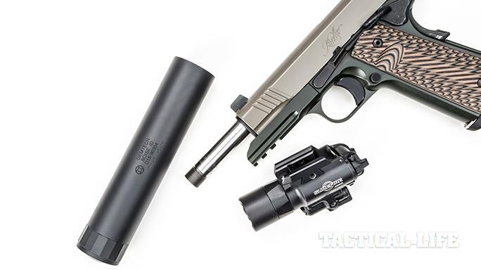Kimber Warrior SOC TFS pistol suppressor