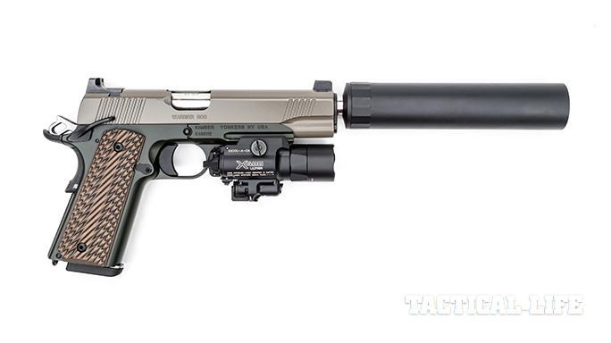 Kimber Warrior SOC TFS pistol right profile