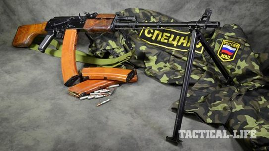 RPK-74 rifle right angle