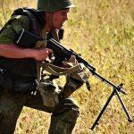 RPK-74 soldier carrying