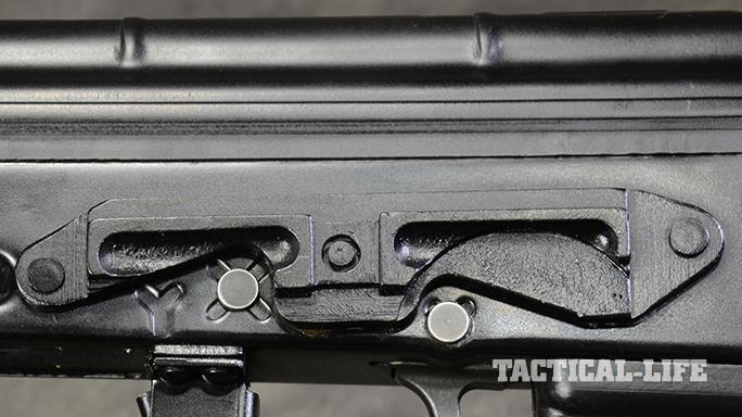 RPK-74 rifle rail