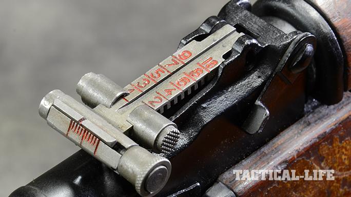 RPK-74 rifle rear sight