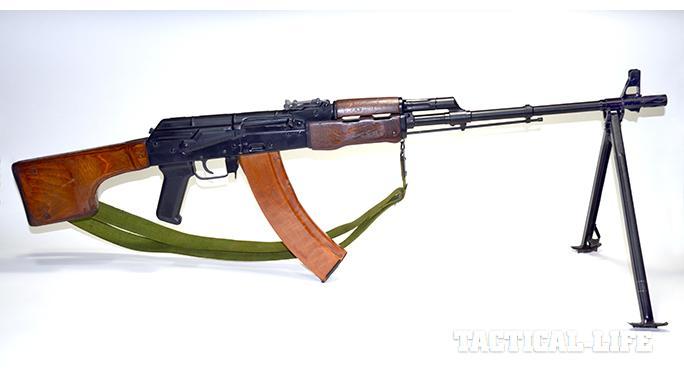 RPK-74 rifle right profile