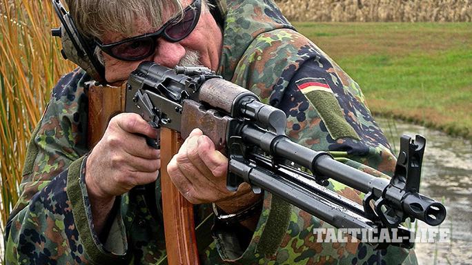 RPK-74 rifle test
