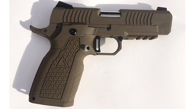 STI-Detonics STX XM17 MHS Pistol right profile