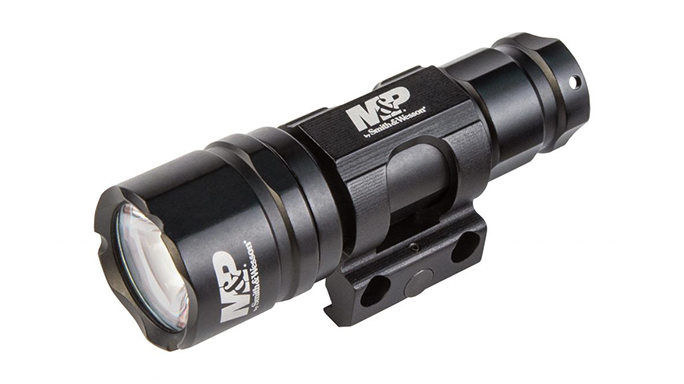 S&W Delta Force RM-10 light left angle