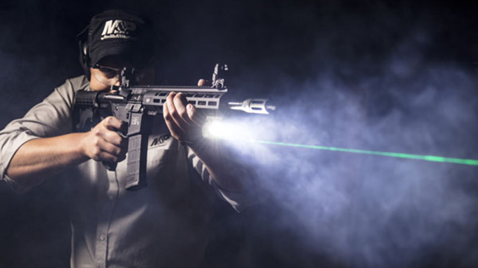 smith wesson M&P15T rifle crimson trace linq