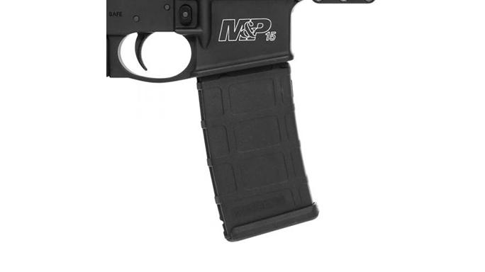 smith wesson M&P15T rifle crimson trace linq magazine